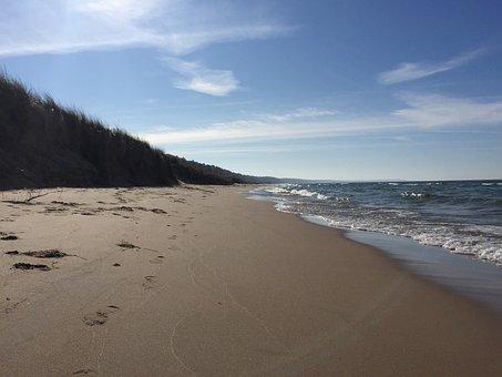 Beach, Dunes, Michigan