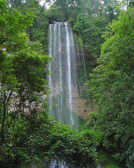 Waterfalls, Nature, Cascade, Tourism, Guinea, Kindia