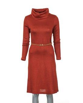 Clothes, Red, Dress, Fashion, Studio, White Background