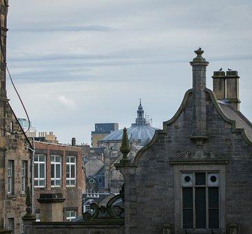 Scotland, Edinburgh, Royal Mile, City, Uk, Travel, Old