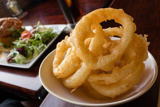 Onion Rings, Food, Fried, Onion, Fast, Meal, Snack