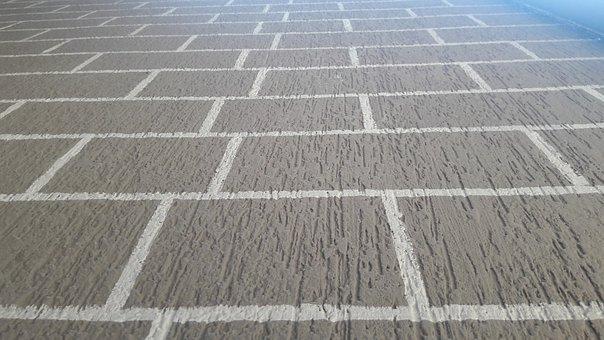 Wall, Grid, Pattern, Floor, Home