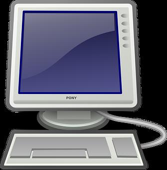 Computer, Desktop, Keyboard, System, Pc, Icon