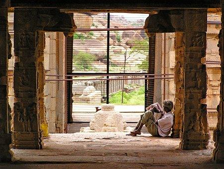 Hampi, Temple, Karnataka, India, Asia, Faith, Religion