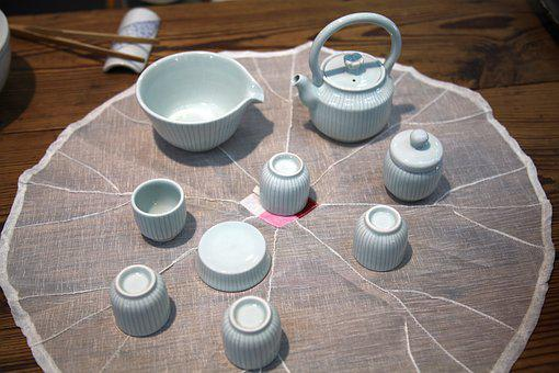 Porcelain, Cup, Kettle, Container, Pottery, Craft