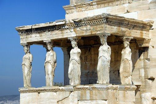 Athens, Parthenon, Greece, Acropolis, Temple, Landmark