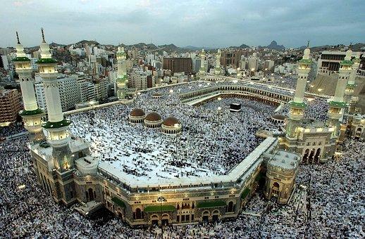Mekkah, Kabah, Masjid