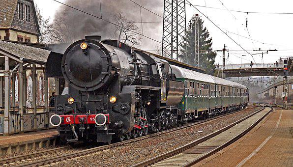 Steam Locomotive, Special Crossing, Plan Steam, Event