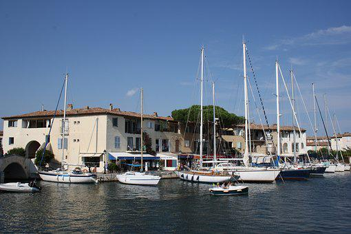 South Of France, Port Grimaud, Port, Marina, Boats