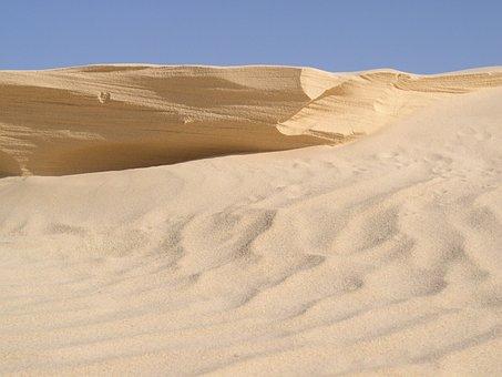 Desert, Dunes, Sahara, Sand, Tunisia