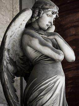 Angel, Staglieno, Sculpture, Genoa