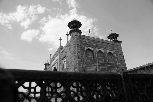 Agra, India, Historic, Taj Mahal, Uttar, Pradesh, Taj