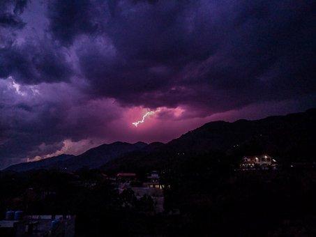 Thunder, Lightning, Storm, Light, Energy, Thunderbolt