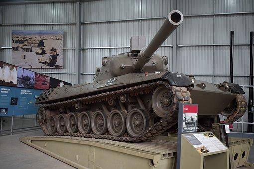 Tank, Museum, Tank Museum, War, Military, Army, Gun