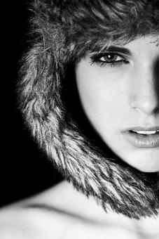 Women's, Girl, Portrait, Beauty Model, Exposure
