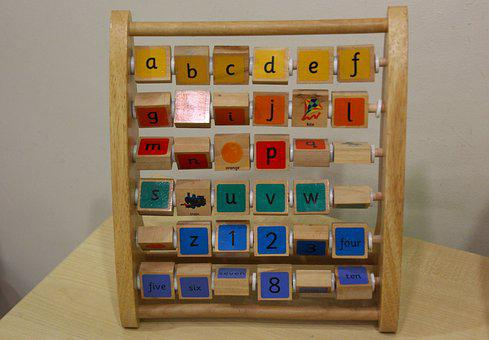 Abacus, Frame, Child's Counting, Education, Tool, Retro