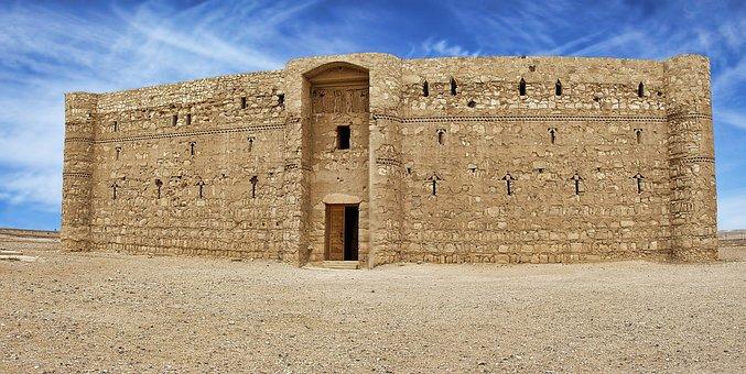 Qasr Al Kharrana, Jordan, Castle, Al-kharrana, Ancient