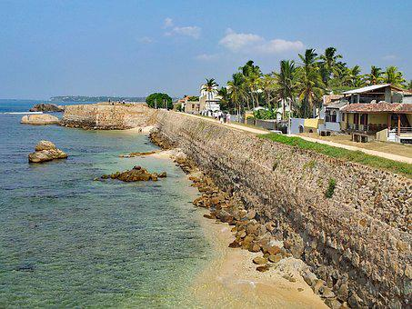 Bile, Sri Lanka, Asia, Coast, Sea, Crystal Clear, Water