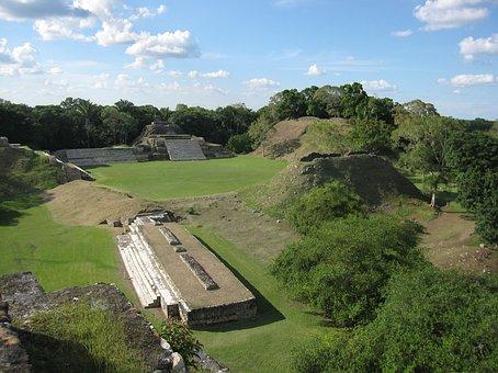 Altun Ha, Caribbean, Pyramid, Maya