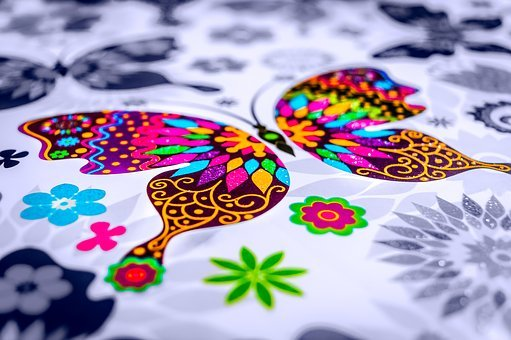 Butterfly, Paint, Color, Watercolor, Insect, Decoration