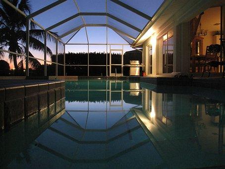 Florida, Cape Coral, Pool, Villa