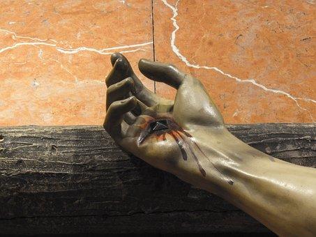 Christ, Nails, Stigmata, Religion, Jesus, God