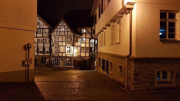 Night, Abendstimmung, Mülheim, Truss, Romance