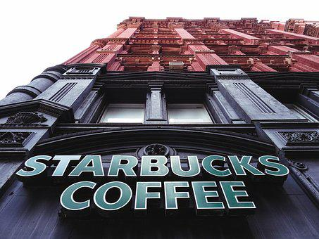Starbuck, Coffee, Potter, Building, New York