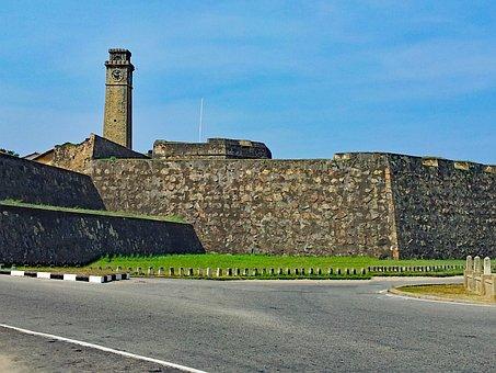 Bile, Sri Lanka, Asia, Fortress, Fort, Old Town