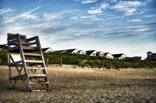 North Carolina, Outer Banks, Kill Devil Hill, Beach