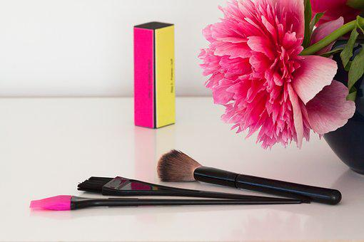 Pentecost, Peony, Make Up, Cosmetics, Nail File, Brush