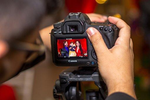 Camera, Photographer, Photographic Technique