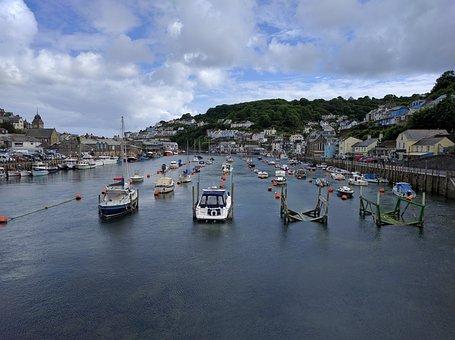 Harbour, Boats, Quay, Water, Sea, Port, Harbor, Marina
