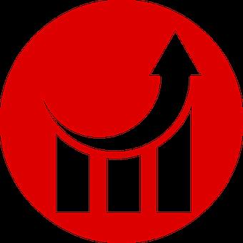 Better, Involvement, Up, Upward, Red, Chart