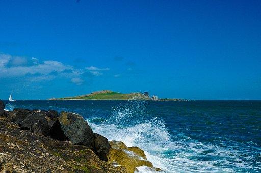 Eye From Dublin, Coast, Sea, Holiday, Rocky Coast