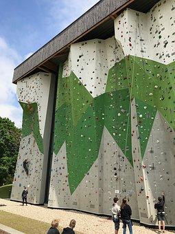 Climbing Wall, Outdoor, Climb, Sporty