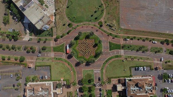 Roundabout, Square, The Lagoon Lagoa Dos Ingleses