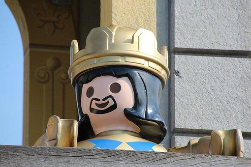 Playmobil, Children's Day, King, Children, Birthday