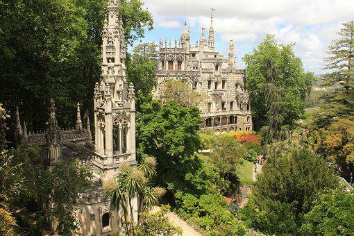 Sintra, Palace, Mystique, Castle, Portugal, History