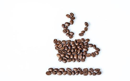 Still Life, Coffee Beans, Coffee Cup, Beans, Food