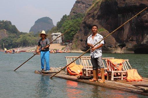 Longhu Mountain, Raft, Labor, Coincidence