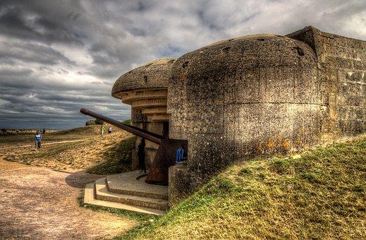 Batterie De Longues, D-day, Normandy, France, War