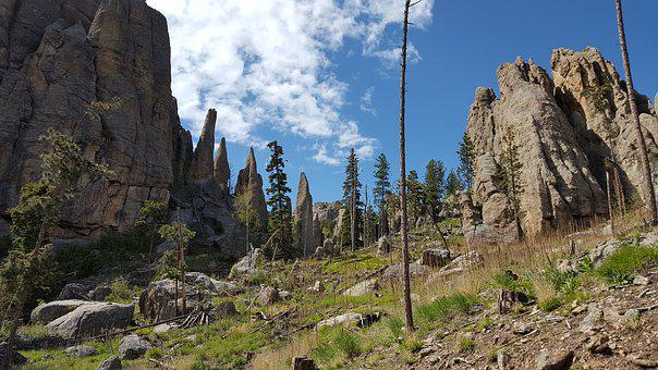 Needles, Custer State Park, Rocks, South, Dakota
