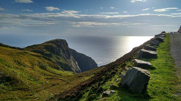 Ireland, The Wild Atlantic Way, Donegal, Coast