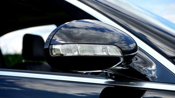 Car, Door Mirror, Mirror, Door, Vehicle, Auto