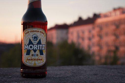 Moritz, Beer, Alcohol, Drink, Bottle
