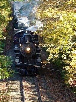 Train, Steam, Steam Train, Locomotive, Engine, Railroad