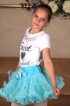 Girl, Skirt, Photoshoot, Hair, Eyes, Model, View