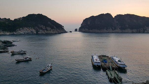 Geoje, Dock, Morning Scenery, Having An Affair