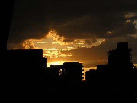 Glow, Solar, Sky, Sunset, Evening Glow